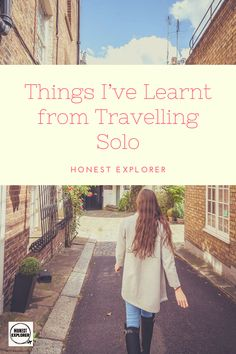 Travelling solo as a woman is so empowering. Here are all the things I've larnt of my years of solo female travel. Solo Travel Tips, Travel Advice, Explore Travel, Travel Alone, Over The Years, Traveling By Yourself, Travel Inspiration, Travelling, Around The Worlds