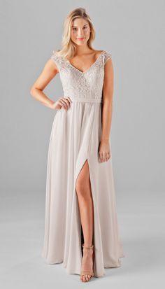 Morgan Embroidered Lace Bridesmaid Dress