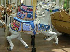 Charles Looff Carousel by caitlinburke, via Flickr