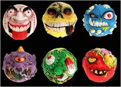 The Grotesquely Glorious Return Of Madballs! Monster Art, Time Capsule, Back In The Day, Stuff To Do, Childhood Memories, Growing Up, 1980s, Nostalgia, The Past