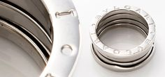 #vintage #Bulgari B Zero 1 ring in 18K white gold