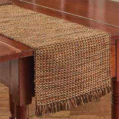 Warm and inviting rich fall colors are found in the Harvest Tweed Table runner measuring 13 x 36 from Park Designs. Table runners make decorating easy. Printed Napkins, Napkins Set, Lace Table Runners, Primitive Gatherings, Parking Design, Natural Home Decor, Fall Table, Rustic Farmhouse, Basket Weaving