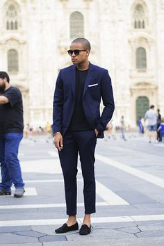 Men's wear # fashion for men # mode homme # men's fashion Terno Casual, Casual Suit, Casual Outfits, Fashion Outfits, Mens Fashion Suits, Mens Suits, Style Costume Homme, Best Street Style, Mode Costume