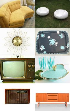 Mid Century Modern Home Decor--Pinned with TreasuryPin.com