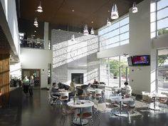 Roberts Wesleyan College Golisano Library Coffee Shop Rochester, NY Kroma - Metallic Marsh