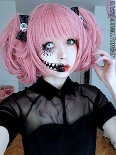 It's anzujaamu with the scary makeup! Review will be up soon! :D