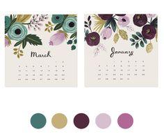 Color Collective palette - Rifle Paper Co. Colour Schemes, Color Combos, Color Palettes, Tan Wedding, Color Picker, Color Harmony, Design Seeds, Rifle Paper Co, Rose Design