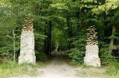 Le Mur, Cornelia Konrads, Land Art, Rocks Art, Art Installation