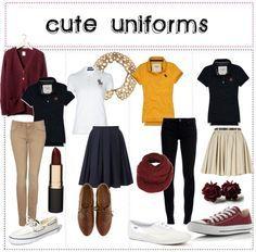 cute uniform ideas girls