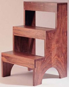 Dovetailed Shaker step stool