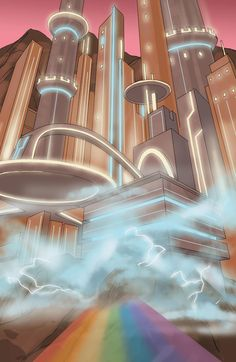 Asgard is the dimension that is inhabited by the Asgardians or Norse gods.  It is the highest of the nine worlds that make up Norse cosmology.  Asgard refers to both the dimensions, kingdom, and city of the Norse gods.