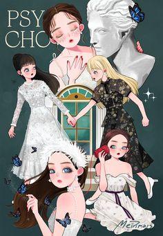 """🍀วัชพืช on Twitter: """"#psycho scenes #redvelvet… """" Kpop Girl Groups, Korean Girl Groups, Kpop Girls, Seulgi, Exo Red Velvet, Red Velet, Kpop Posters, Kpop Fanart, Anime Art Girl"""