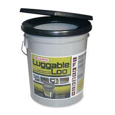 Luggable Loo Portable Camping Toilet.