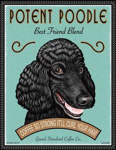 Potent Poodle - www.fuchsundfjonka.de