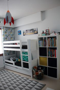 Boys room, bunk bed