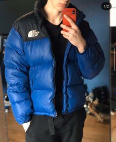 Puffer Jackets, Winter Jackets, North Face Nuptse, Mens Down Jacket, Quilted Jacket, Mens Suits, The North Face, Street Wear, Bomber Jacket