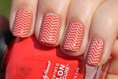 Trendy nails!