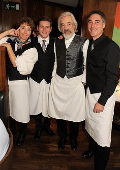 Your waiters for the night will be...