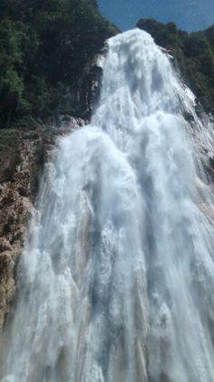 Chiapas ... Cascadas velo de novia