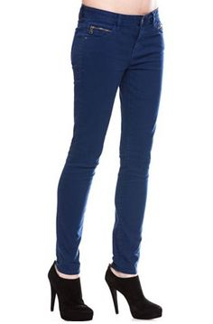 Repin the A|X Skinny Legging Jean in Estate Blue #denim