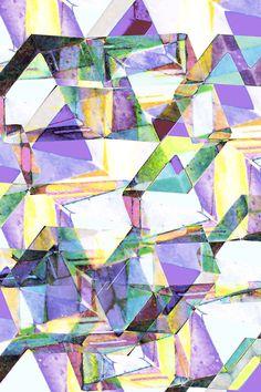 The PatternBase: Textile + Graphic Design Studio in Chicago, Illinois Concrete diamonds.