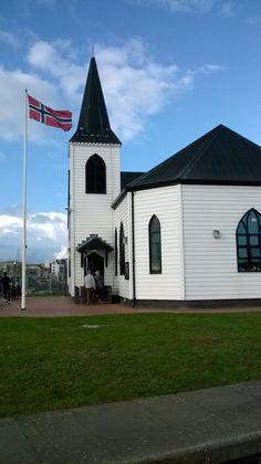 The Norwegian church Cardiff Bay