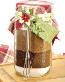 toffee coffee mix in a jar