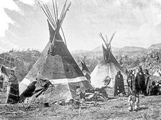 Shoshone-Indians-and-skin-teepees_FINAL-600x446.jpg (600×446)