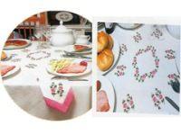 Gallery.ru / Фото #2 - ***** - celita Cross Stitch Rose, Bargello, Table Linens, Embroidery Stitches, Plastic Cutting Board, Tableware, 1, Punto Croce, Handmade Crafts