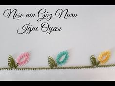This needlework model is very elegant and easy, you should definitely try it (Needle Lace) - Дизайн дома Crochet Flower Tutorial, Crochet Lace Edging, Crochet Borders, Easy Crochet, Crochet Flowers, Knit Crochet, Crochet Hats, Needle Tatting, Needle Lace