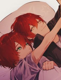 Saeran and Saeyoung Mystic Messenger Game, Messenger Games, Mystic Messenger Fanart, Illustrations, Illustration Art, Manga Anime, Anime Art, Saeran Choi, Saeyoung Choi
