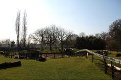 Een stralende dag op kinderboerderij 't Mouwtje in Bussum.