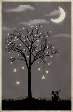 In the spirit of the night - all creatures are full of light! ~BeeHerz #BeeInLove