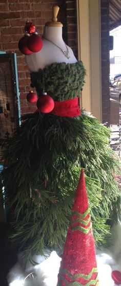 Christmas mannequin found @southern sisters boutique in Greer ax