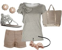 """neutrals2"" by bradierenee ❤ liked on Polyvore"