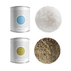 packaging: Flor de Sal d'Estrenc