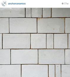 Subway Variation Handmade Tiles, Tile Floor, Ceramics, Texture, Instagram Posts, Crafts, Anchor, Bathrooms, Home Decor