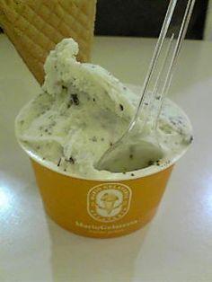 'Mario Gelateria' chocolate mint ice cream