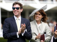 Princess Eugenie and Boyfriend Jack Brooksbank Enjoy a Date at the Races