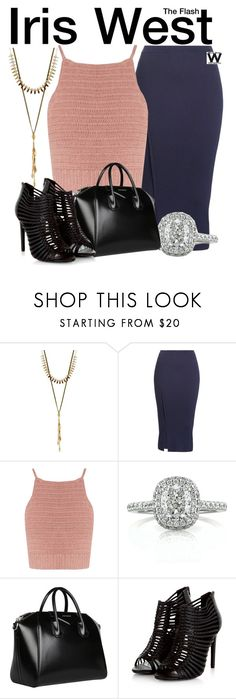 """The Flash"" by wearwhatyouwatch ❤ liked on Polyvore featuring Lucky Brand, Victoria Beckham, SHE MADE ME, Mark Broumand, Givenchy, television and wearwhatyouwatch"