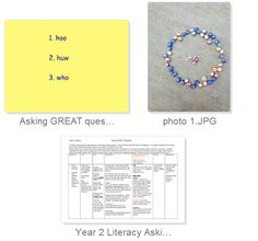 Asking Great Questions - Literacy through Science. Encouraging chn to think about how they ask questions to get the best and most interesting answers. Covers spelling of exception word 'who', inspired awe, wonder & great questions. Primary Science, Spelling, Literacy, Encouragement, English, How To Get, This Or That Questions, Inspired, Words