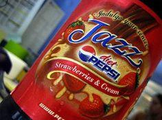 Diet Pepsi Jazz: Strawberries & Cream