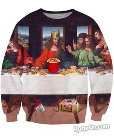 The Fast Food Supper Crewneck Sweatshirt