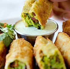 Avocado Egg Rolls (Cheesecake Factory copycat)... Happy Hour Appetizers 62 | Hampton Roads Happy Hour - 2
