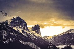 afternoon mountains photography