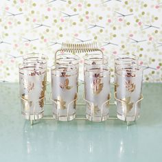 vintage tumblers - we had these!