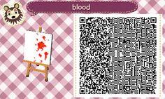 Blood Splatter - ACNL - qr - Broesel