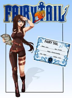 [Fairy Tail OC] Lara Guild Card by TheGirlInTheSpace on DeviantArt