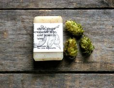All natural soap cold process soap citrus by TheLittleRagamuffin, $3.50