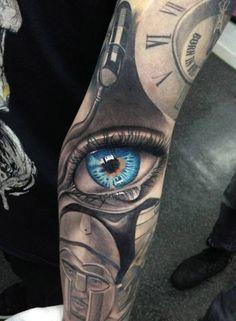 Image result for auge tattoo unterarm